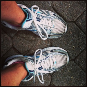 my running shoes..