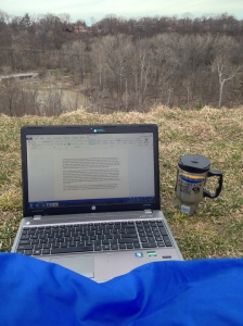 My morning office :)