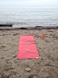 yoga at the beach dudes :)